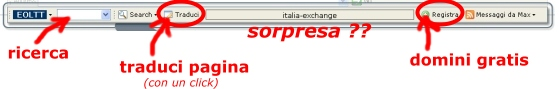 Usa la toolbar per scaricare gratis programmi ed altro...