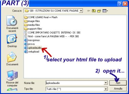 audio recording software... upload your files into SBI..