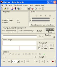 audio recording software... Total Recorder!